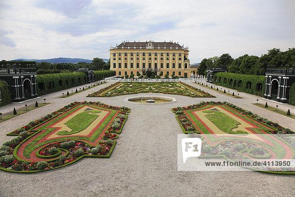 Emperor park in Schoenbrunn  Vienna  Austria