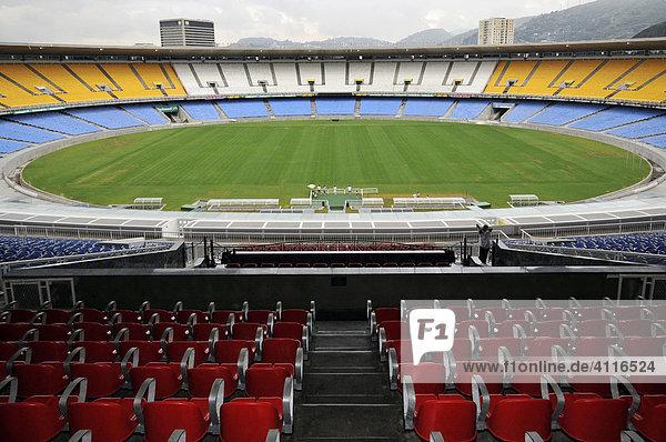 Fußballstadion Maracana  Rio de Janeiro  Brasilien