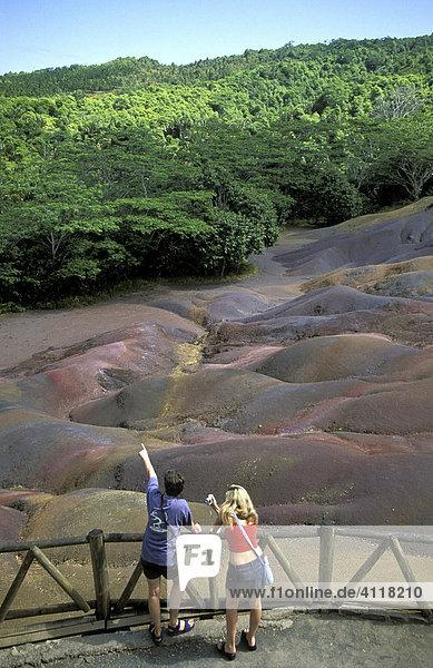 Terre des couleurs  Chamarel  Mauritius
