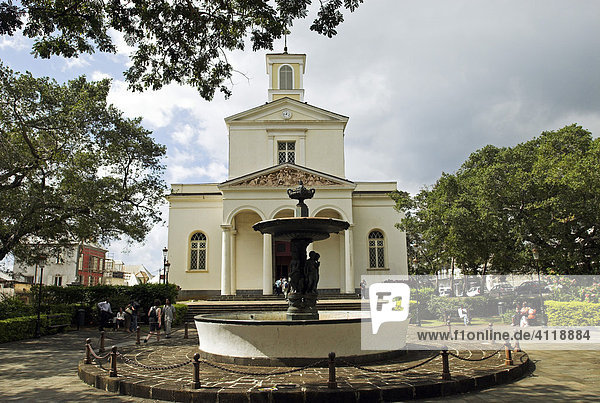 Kathedrale in der Hauptstadt St. Denis  Insel La Reunion  Frankreich  Afrika