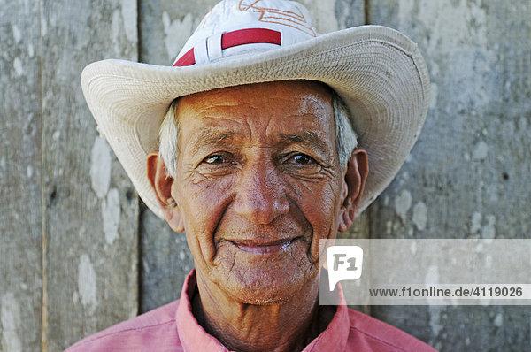 Alter Cowboy  Hacienda Guachipelin  Costa Rica  Mittelamerika