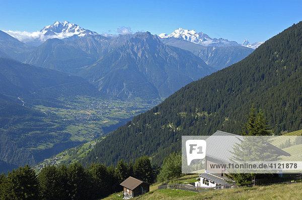 Riederalp  Wallis  Schweiz  Europa