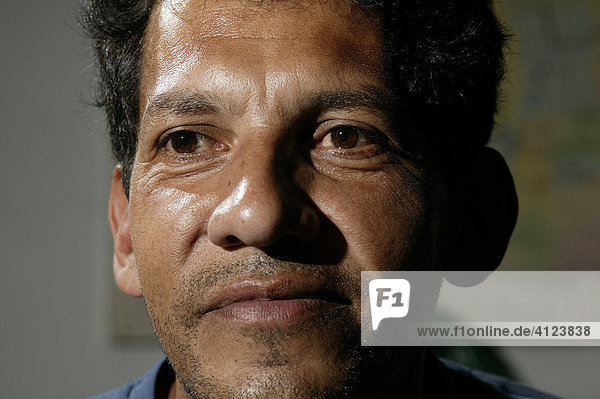 Männerportrait  Paraguay