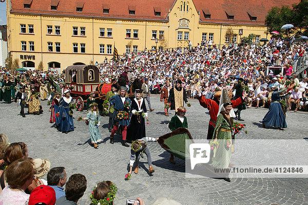 Landshuter Hochzeit  Landshut  Niederbayern  Bayern  Deutschland