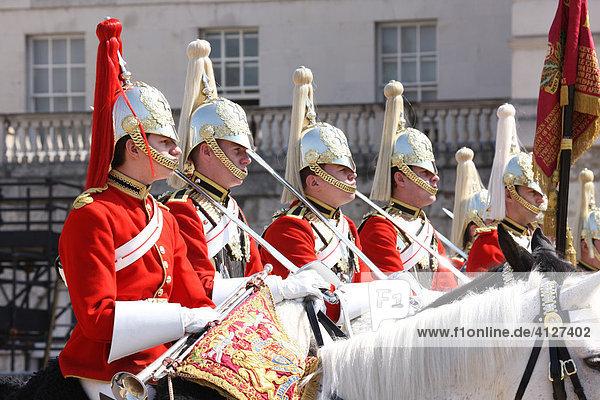 Royal Cavalry  London  England  Great Britain  Europe