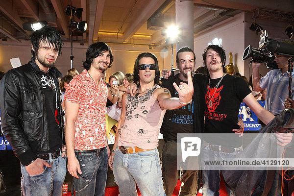 Marc Terenzi with Band
