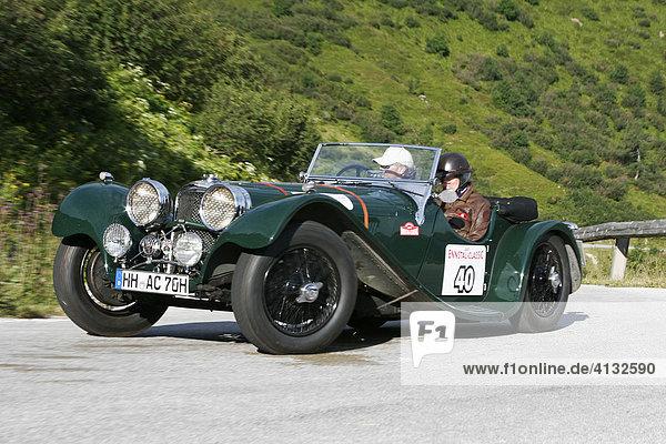 Jaguar SS 100  Oldtimer  Baujahr 1937  Ennstal-Classic 2007  Österreich