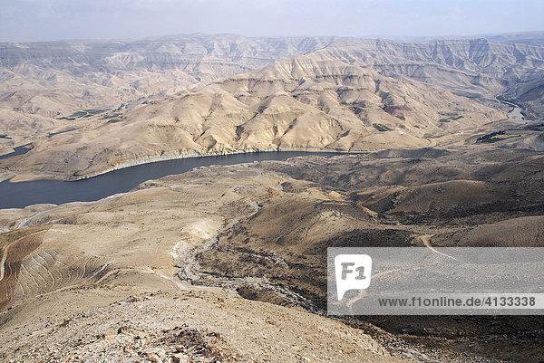 Wadi al-Mujib (Jordaniens Grand Canyon)  Jordanien  Naher Osten  Asien