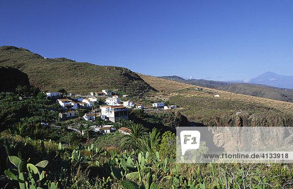 Dorf Antoncojo  La Gomera  Kanarische Inseln  Spanien