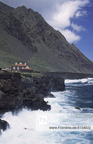 Küste  El Golfo  El Hierro  Kanarische Inseln  Spanien