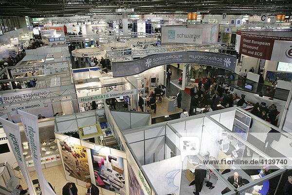 Medica 2007  weltgrösste Fachmesse für Medizin  Düsseldorf  Nordrhein-Westfalen  Deutschland