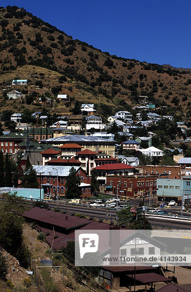 USA  United States of America  Arizona  Bisbee: former mining town in south Arizona. Last copper mine closed in 1975. Today a nice renovaed town with lots of activitys.