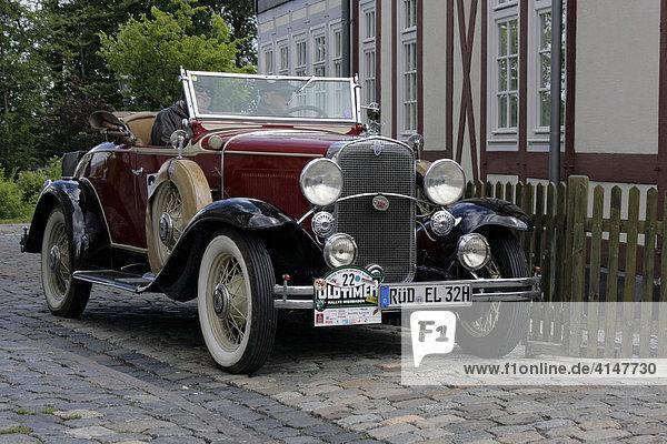 Oldtimer Chevrolet Convertible Roadster Baujahr 1931  Oldtimer-Rallye Wiesbaden 2007  Hessenpark  Neu-Anspach  Taunus  Hessen  Deutschland