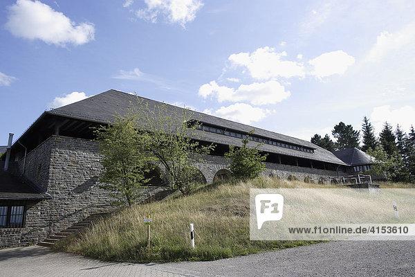 Ehemalige NS-Ordensburg Vogelsang  Nordrhein-Westfalen  Deutschland