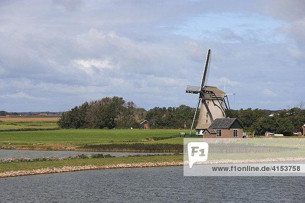 Niederlande  Texel  Windmühle