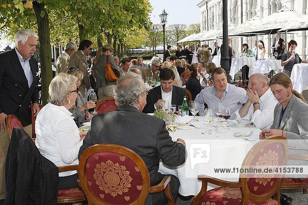 Grandhotel Schloss Bensberg  Festival der Meisterköche  Bergisch Gladbach-Bensberg  Nordrhein-Westfalen