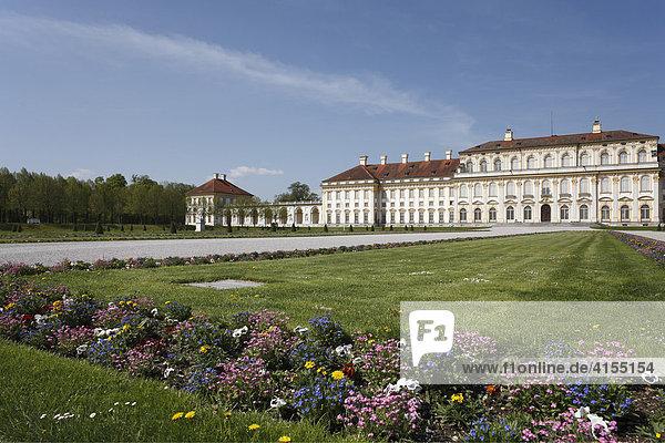 Neues Schloss Schleißheim  Oberschleißheim bei München  Oberbayern  Bayern  Deutschland  Europa