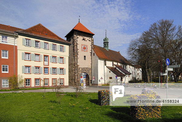 Bickentor  Villingen  Baden-Württemberg  Deutschland  Europa