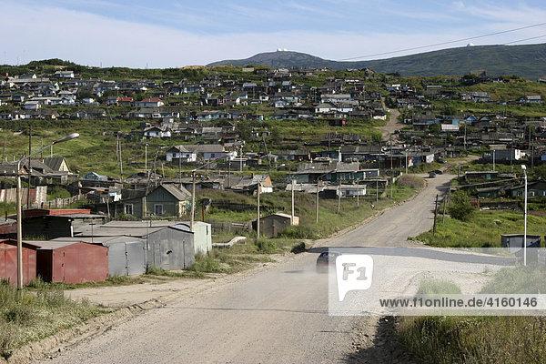 Magadan  Eastern Siberia  Russia