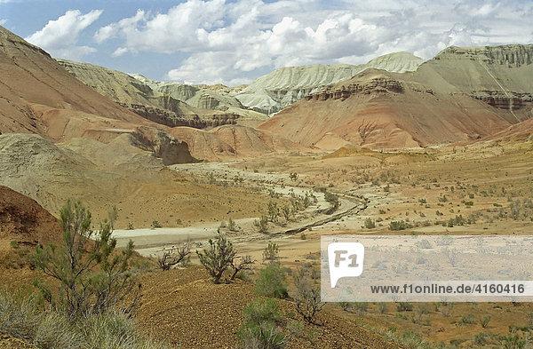 Nationalpark Altyn Emel. Aktau  Kasachstan.