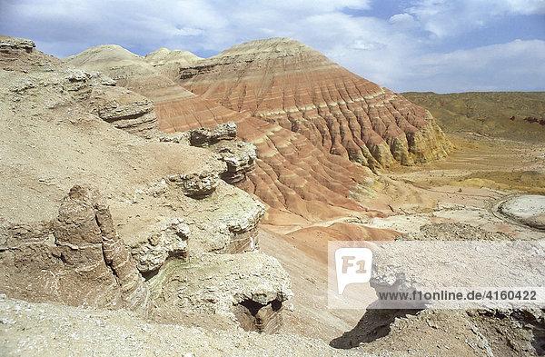 National park Altun Emel. Aktau  Kazakhstan