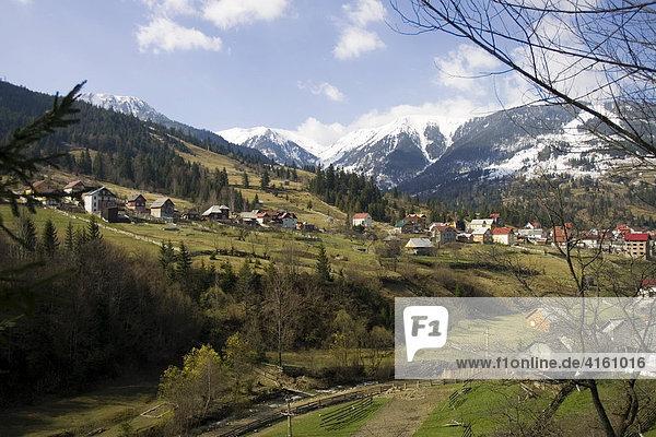 Gebirgszug der Karpaten  Rumänien