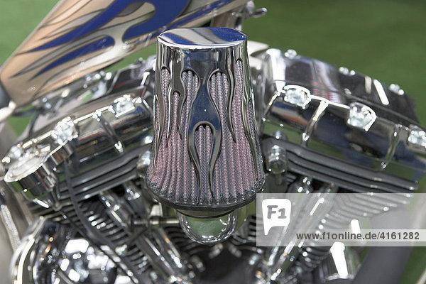 Motor einer Harley Davidson