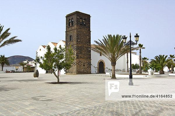 Kirche 'Nuestra Senora de la Candelaria'  La Lajita  Fuerteventura  Kanarische Inseln  Spanien