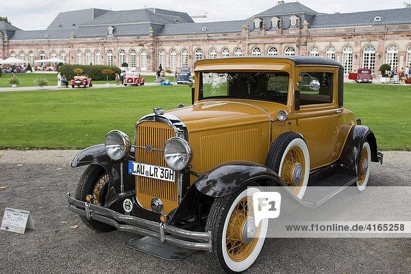 Buick USA  Oldtimer-Gala Schwetzingen  Baden Württemberg Deutschland