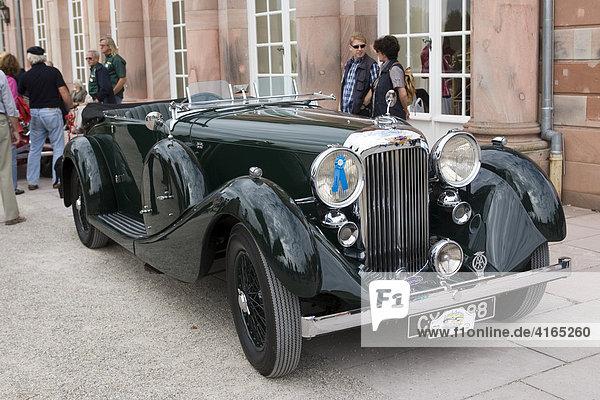 Lagonda LG 45  Oldtimer-Gala Schwetzingen  Baden Württemberg Deutschland