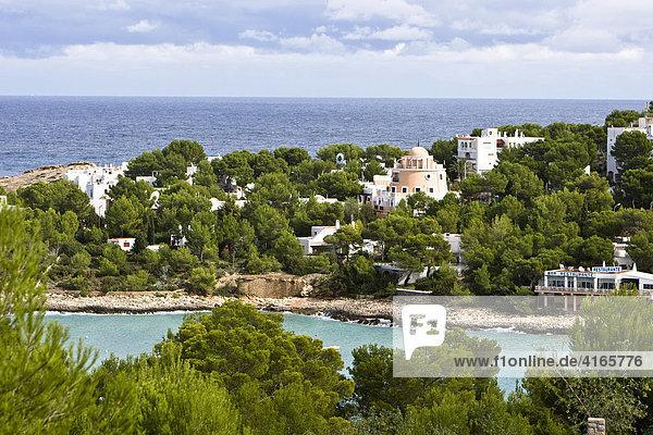 Bucht von Portinatx  Ibiza  Balearen  Spanien