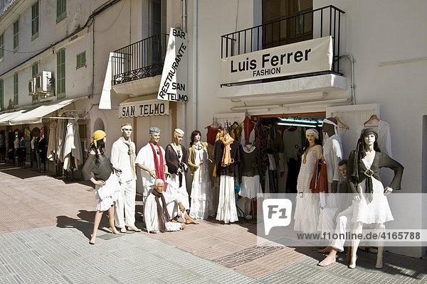 Fashion shop Luis Ferrer  Ibiza  Baleares  Spain