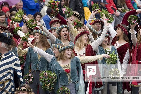 Landshuter Hochzeit Hochzeitszug Landshut Niederbayern