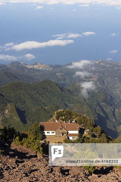 Berghütte Pico Ruivo - Madeira