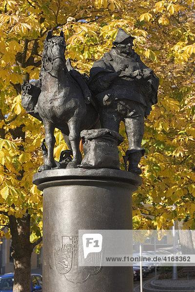 Sämerbrunnen in Grafenau im Bayerischen Wald - Niederbayern