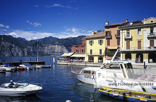 Malcesine Gardasee Veneto - Italien