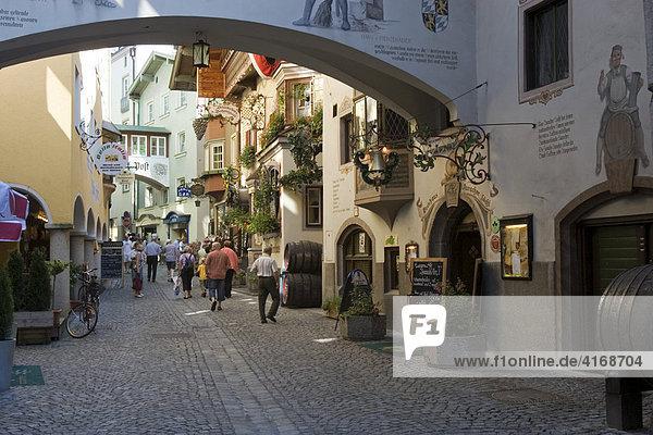 Kufstein im Unterinntal Römerhofgassl Auracher Löchl Tirol Österreich