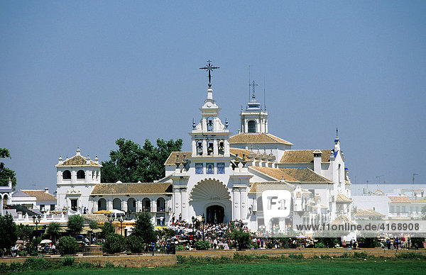 El RocÌo - RomerÌa Pfingst-Wallfahrt - Costa de la Luz - Andalusien Provinz Huelva Spanien
