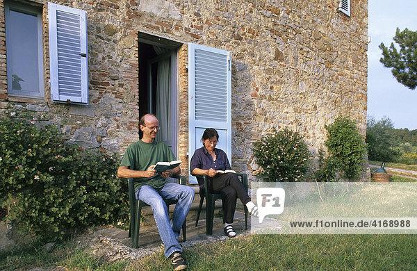 Toskana Chianti alter Bauernhof La Stella Ferienwohnung