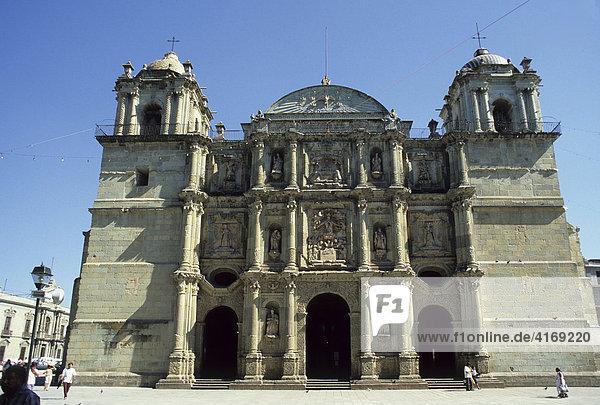 Mexiko Oaxaca Stadt Kathedrale