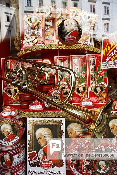 Mozartkugeln  Salzburg  Österreich