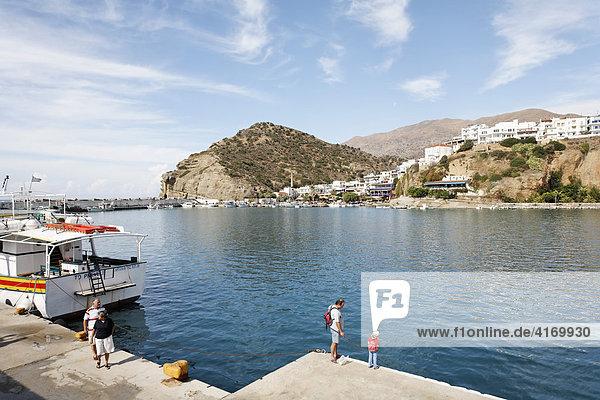 Agia Galini  Südkreta  Kreta  Griechenland