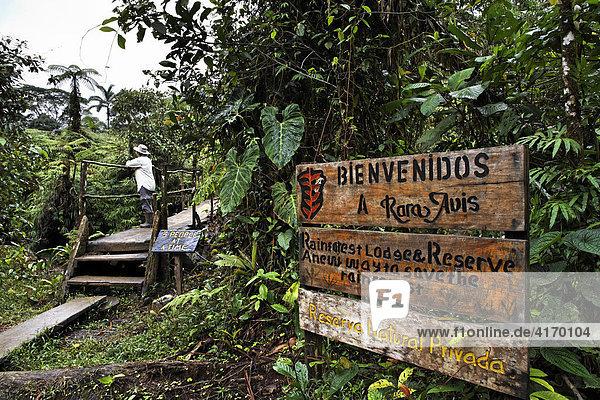 Privates Naturreservat Rara Avis  Las Horquetas  Costa Rica