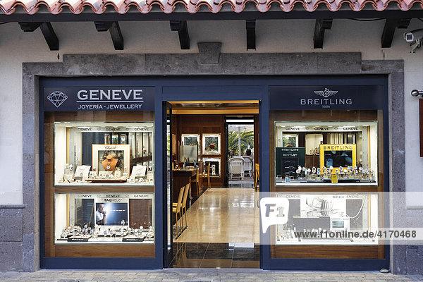 Juwelier  Maspalomas  Gran Canaria  Kanaren  Spanien