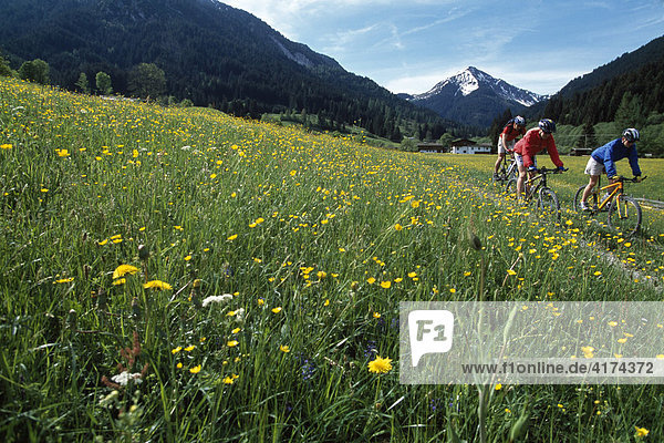 Mountainbiker  Tirol  Österreich