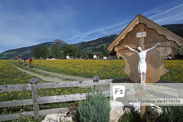 Wegkreuz  Kirchberg  Kitzbühel  Tirol  Österreich
