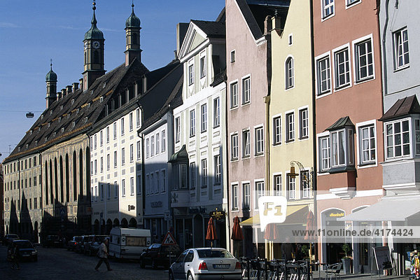 Landsberg am Lech  Bayern  Deutschland