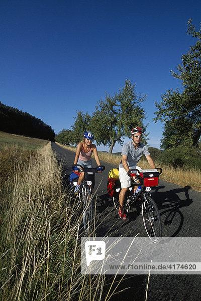 Radtour  Fränkische Schweiz  Bayern  Deutschland