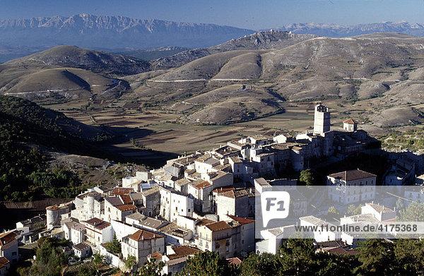 Castel del Monte  Abruzzo  Italy