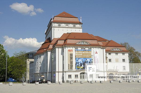 Schauspielhaus  Dresden  Sachsen  Deutschland  Europa